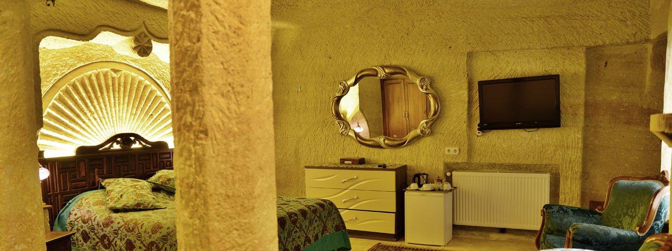 Boutique cave hotel in Cappadocia, Turkey