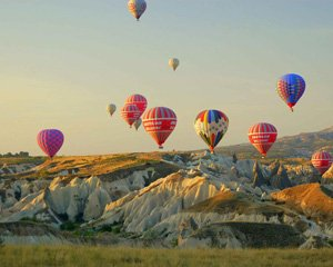 Hot Air Ballooning Sicak Hava Balon