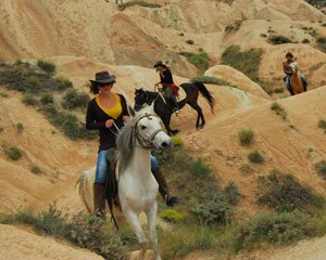 Horse-riding /At gezesi