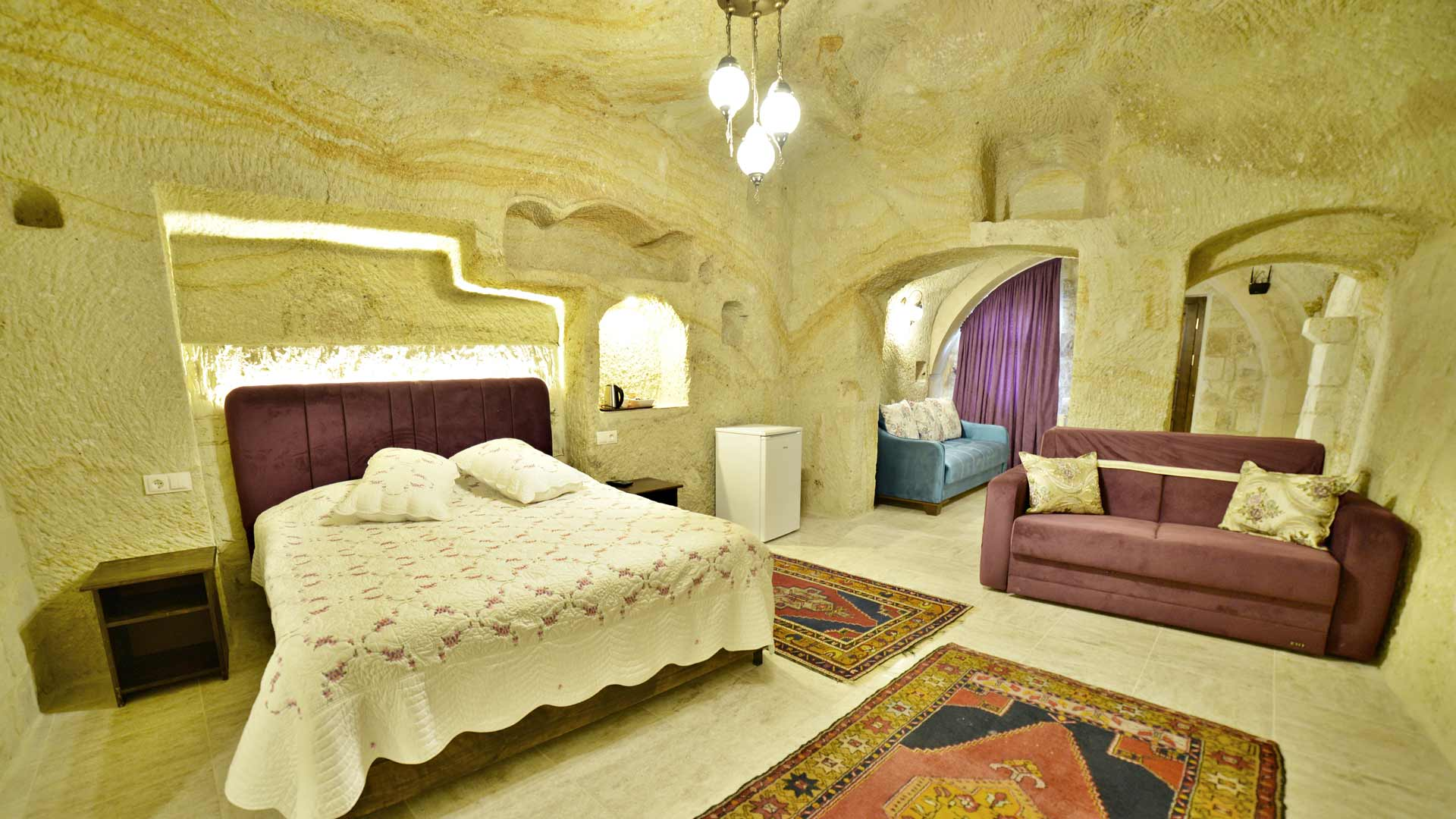 Dedluxe Rooms at Dedeli Konak Cave Hotel