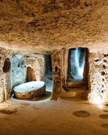 kaymakli-underground-city yeraltı sehir